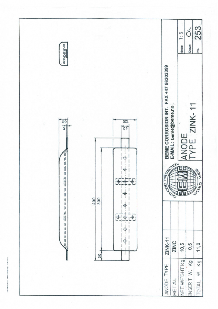 Drawing 253 ZINK-11